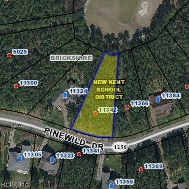11342 Pinewild Dr, New Kent County, VA 23140 (#10233346) :: Coastal Virginia Real Estate