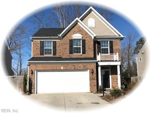 210 Bethune Dr, York County, VA 23185 (#10239206) :: Abbitt Realty Co.