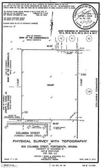 609 Columbia St, Portsmouth, VA 23704 (MLS #10242753) :: Chantel Ray Real Estate