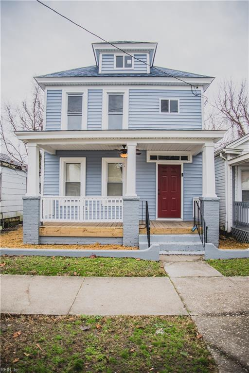 1216 31st St, Newport News, VA 23607 (#10244320) :: 757 Realty & 804 Homes
