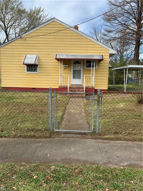 3212 Killian Ave, Portsmouth, VA 23704 (MLS #10246155) :: Chantel Ray Real Estate