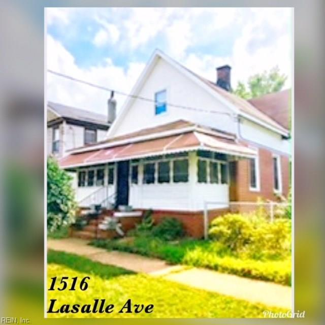1516 Lasalle Ave, Portsmouth, VA 23704 (#10255450) :: Atlantic Sotheby's International Realty