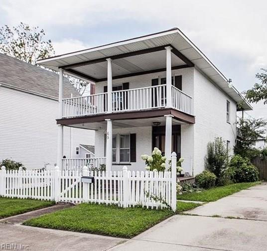 65 Maple Ave, Newport News, VA 23607 (#10258080) :: Abbitt Realty Co.