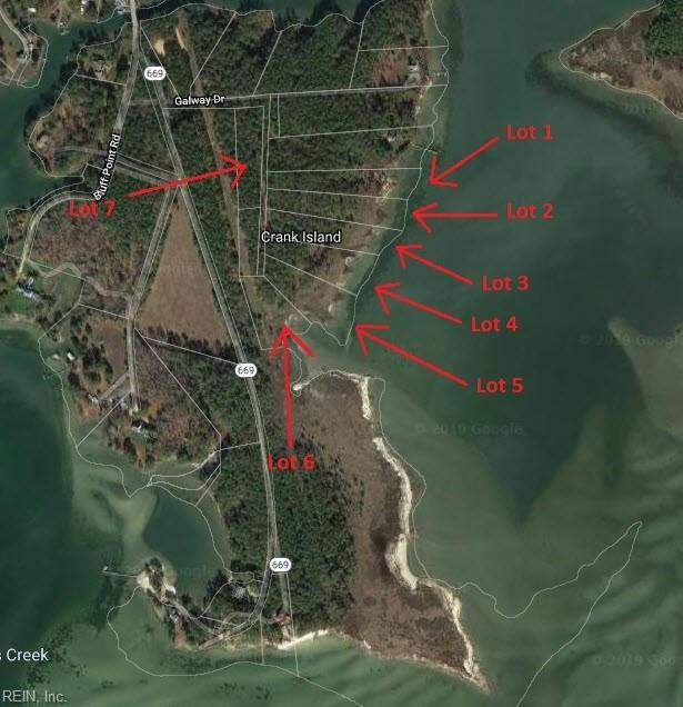 Lot 7 Galway Dr, Northumberland County, VA 22482 (#10268181) :: The Kris Weaver Real Estate Team