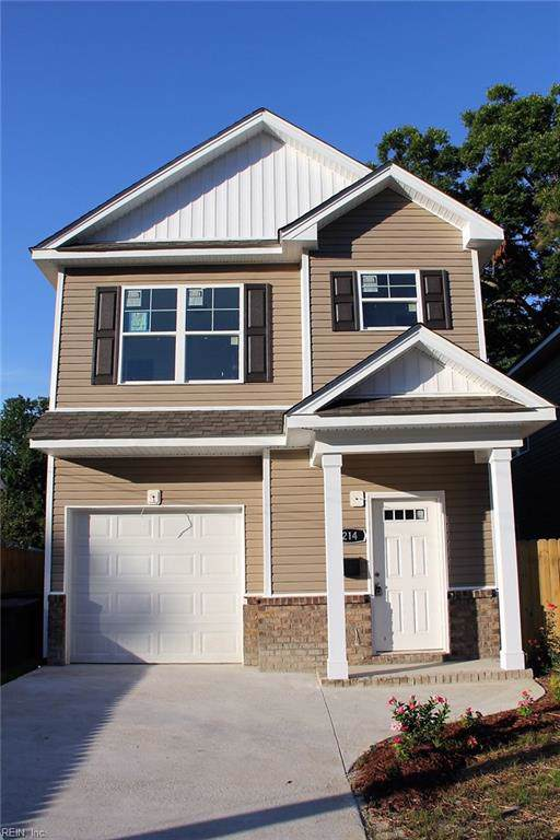 214 Chamberlin Ave W, Hampton, VA 23663 (#10270537) :: Rocket Real Estate