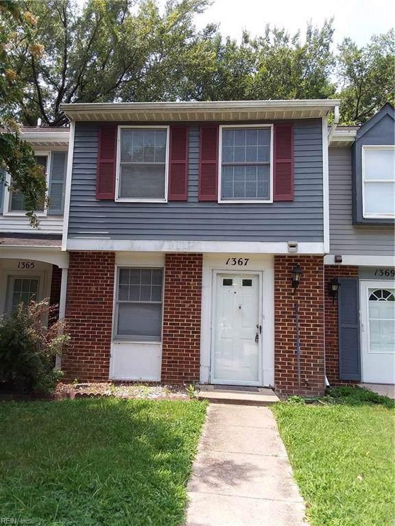 1367 Peabody Dr, Hampton, VA 23666 (#10273331) :: Abbitt Realty Co.