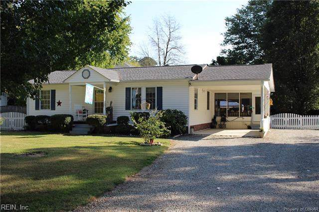401 Sanders Landing Rd, Mathews County, VA 23128 (#10285652) :: Austin James Realty LLC