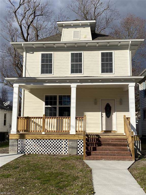 428 Newport News Ave, Hampton, VA 23669 (#10300629) :: Kristie Weaver, REALTOR