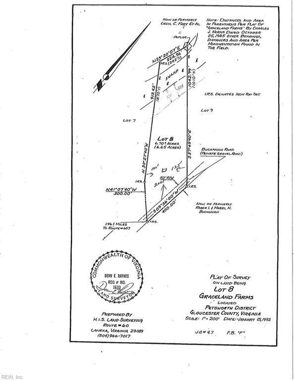 6.7AC Graceland Farms Ln, Gloucester County, VA 23061 (#10305524) :: Kristie Weaver, REALTOR