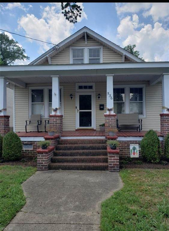 536 Maryland Ave, Portsmouth, VA 23707 (#10334383) :: Rocket Real Estate