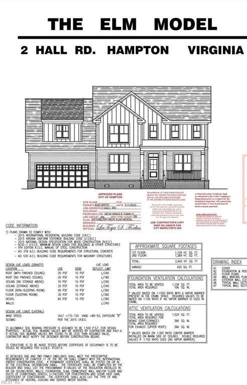 2 Hall Rd, Hampton, VA 23664 (#10334661) :: The Kris Weaver Real Estate Team