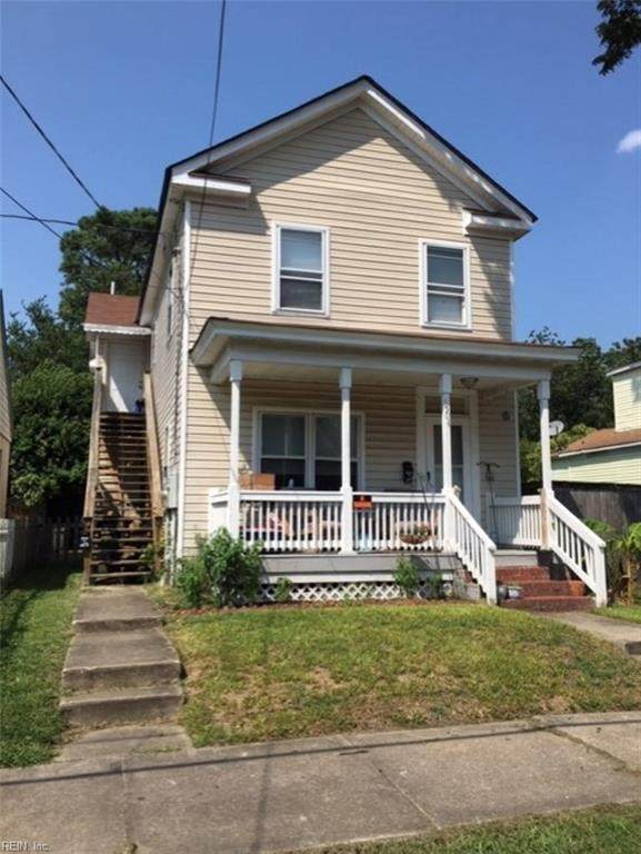 1504 Leckie St, Portsmouth, VA 23704 (#10338909) :: Berkshire Hathaway HomeServices Towne Realty