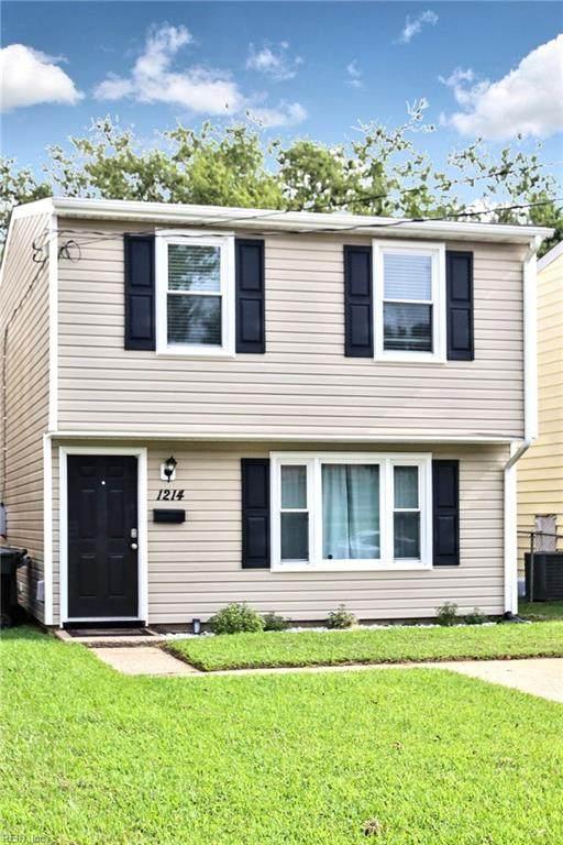 1214 Easterly Ave, Hampton, VA 23669 (#10339441) :: Atkinson Realty