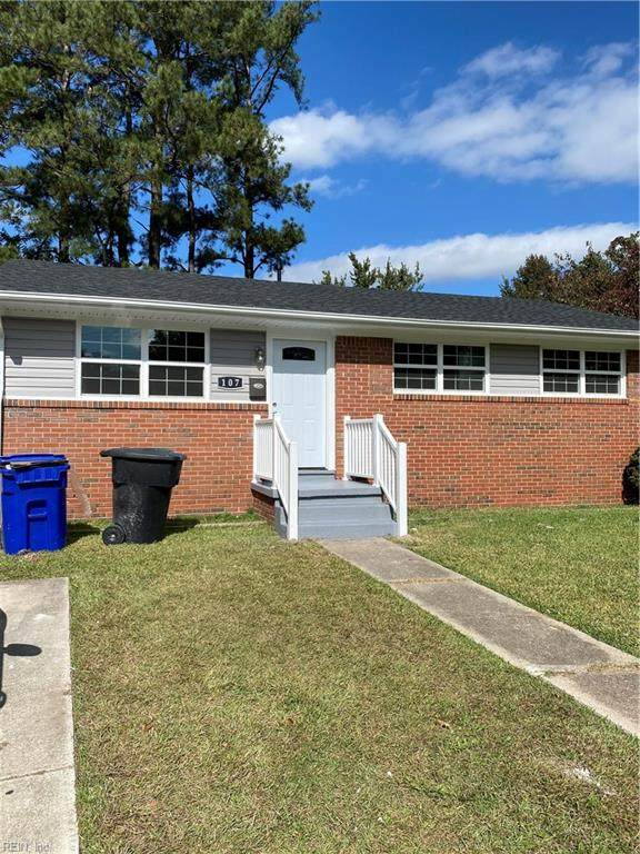 107 Beazley Dr, Portsmouth, VA 23701 (#10347296) :: Encompass Real Estate Solutions