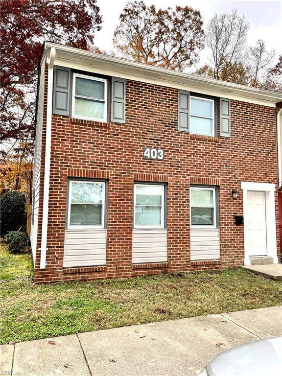 403 Savage Dr A, Newport News, VA 23602 (#10351733) :: AMW Real Estate