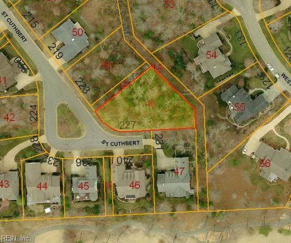 227 St Cuthbert, James City County, VA 23188 (#10356003) :: Berkshire Hathaway HomeServices Towne Realty