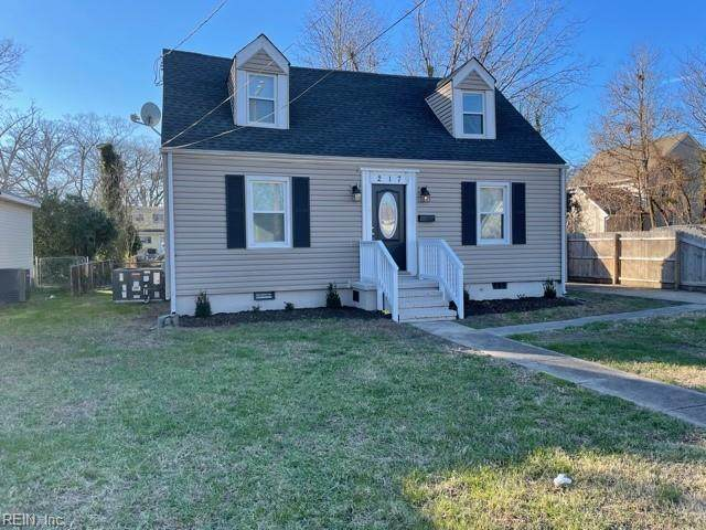 217 Brightwood Ave, Hampton, VA 23661 (#10356925) :: Atkinson Realty