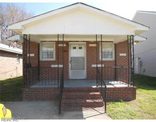 720 Spruce St, Hampton, VA 23661 (#10360454) :: Berkshire Hathaway HomeServices Towne Realty