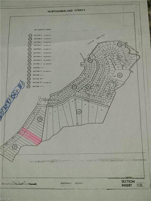 Lot 13 Bay Quarter Rd, Northumberland County, VA 22473 (#10366503) :: Kristie Weaver, REALTOR