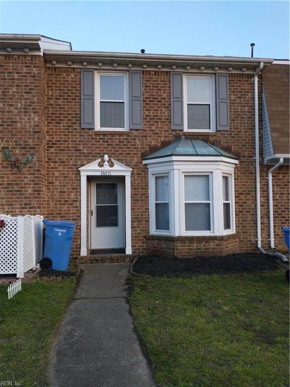 805 Sommerville Cres, Chesapeake, VA 23320 (#10370748) :: Crescas Real Estate