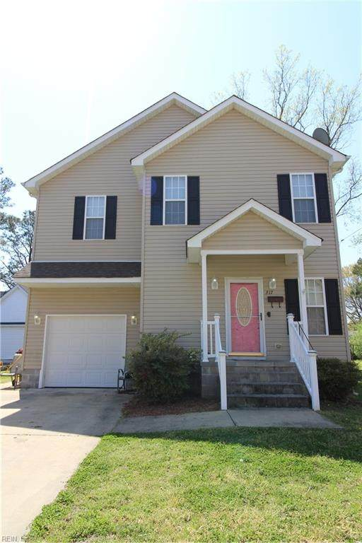 317 Hall St, Franklin, VA 26807 (#10370799) :: Verian Realty