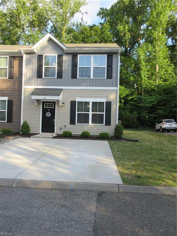 401 Lakeview Cv, Isle of Wight County, VA 23430 (#10377694) :: Tom Milan Team