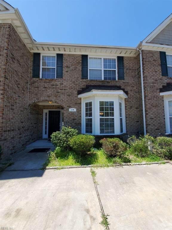 14 Cannonball Cir, Hampton, VA 23669 (#10384576) :: Berkshire Hathaway HomeServices Towne Realty