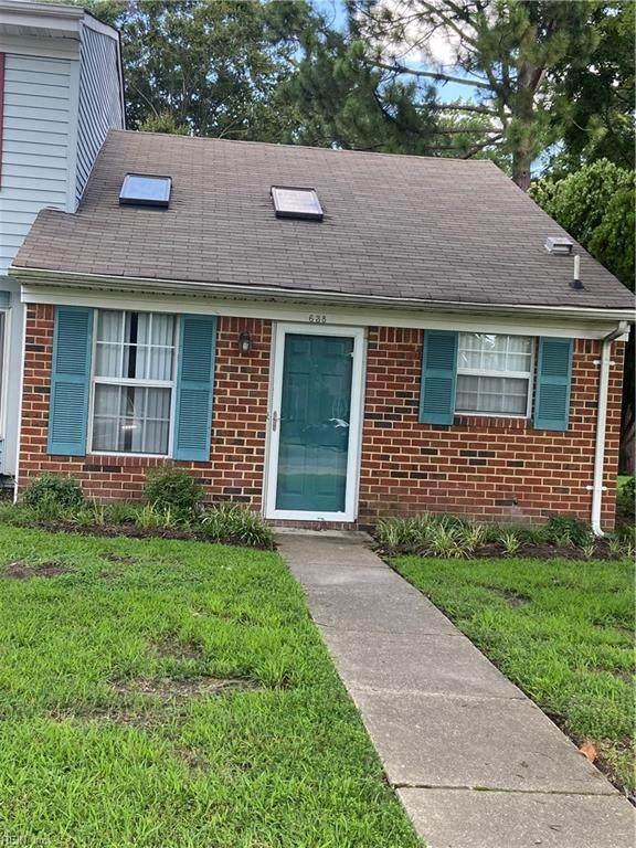 638 Hollomon Dr, Hampton, VA 23666 (#10396852) :: Team L'Hoste Real Estate