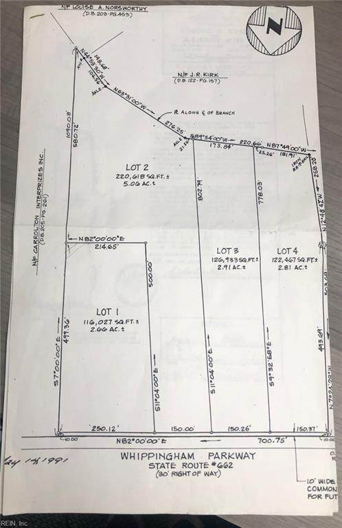 Lot 1 Green Pasture Ln, Isle of Wight County, VA 23314 (#10402491) :: Berkshire Hathaway HomeServices Towne Realty