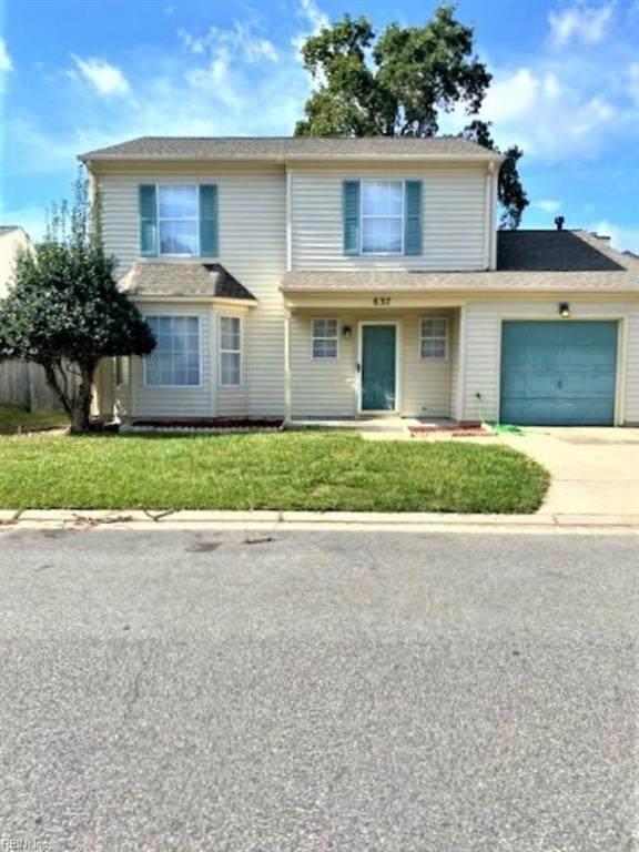 837 Rouse Rd, Newport News, VA 23608 (#10406869) :: Verian Realty