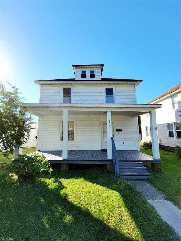 305 Columbia Ave, Hampton, VA 23669 (#10407123) :: Verian Realty