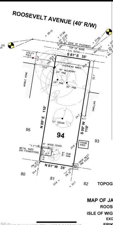 Lot 94 Roosevelt Ave, Isle of Wight County, VA 23851 (#10407407) :: ELG Consulting Group