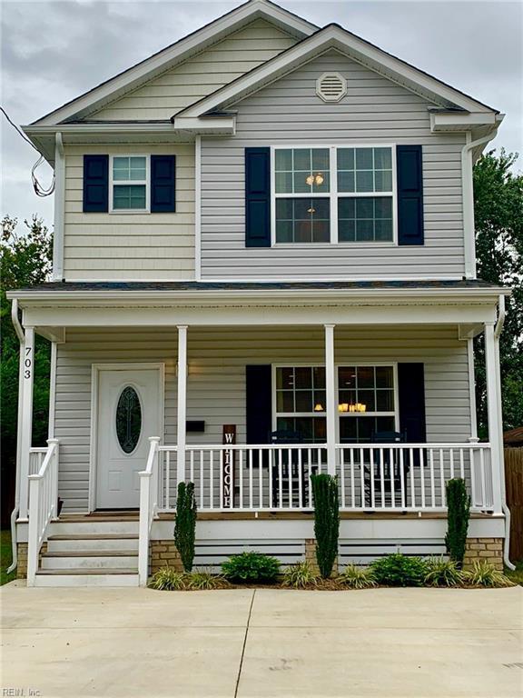 703 Langley Ave, Hampton, VA 23669 (MLS #10223679) :: Chantel Ray Real Estate