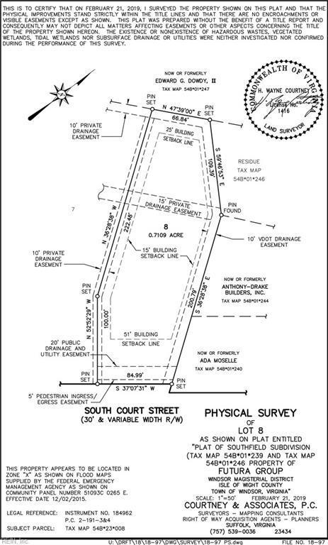 0.71 A S Court St, Isle of Wight County, VA 23487 (MLS #10236679) :: AtCoastal Realty