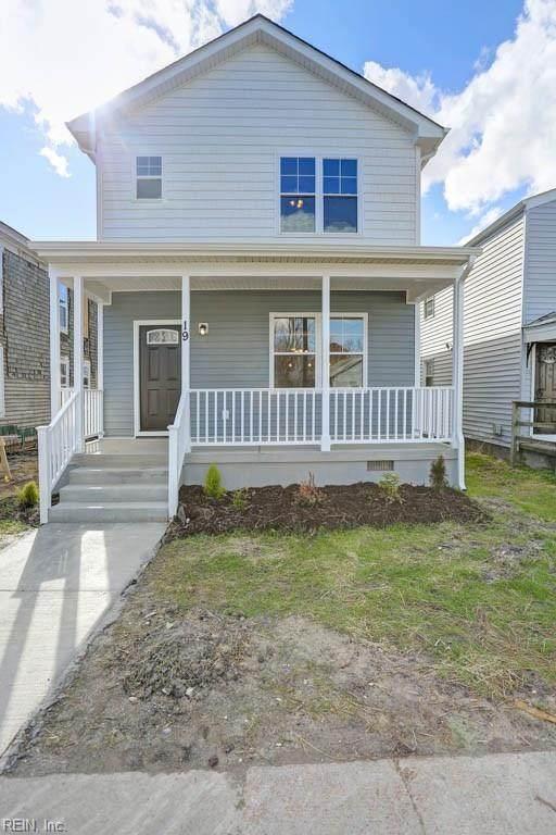 19 West Chamberlin Ave, Hampton, VA 23663 (MLS #10301974) :: Chantel Ray Real Estate