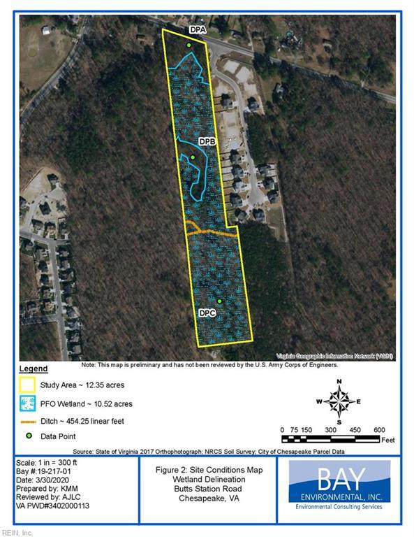 12.9AC Butts Station Rd, Chesapeake, VA 23320 (#10251924) :: Austin James Realty LLC