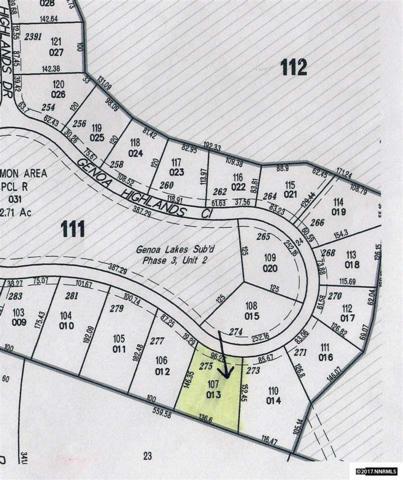 275 Genoa Highlands Circle, Genoa, NV 89411 (MLS #170006852) :: RE/MAX Realty Affiliates