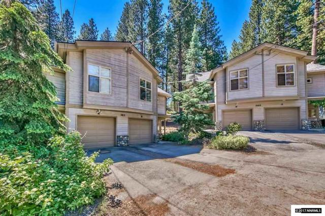 383 Cottonwood Court #B B, Incline Village, NV 89451 (MLS #170009030) :: The Mike Wood Team