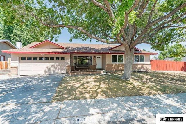 865 Pennsylvania Drive, Reno, NV 89503 (MLS #170011473) :: Chase International Real Estate