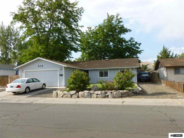 216 E Hampton, Carson City, NV 89706 (MLS #170012382) :: RE/MAX Realty Affiliates