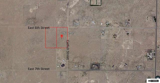 2465 and 2405 E 6th Street, Silver Springs, NV 89429 (MLS #170015331) :: The Mike Wood Team