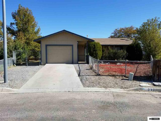532 Pioneer, Fernley, NV 89408 (MLS #170015388) :: Marshall Realty