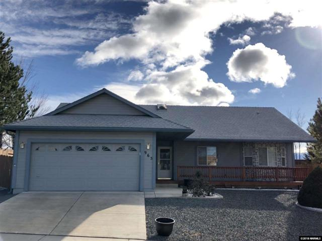 965 Sunup Ct, Carson City, NV 89705 (MLS #180000413) :: RE/MAX Realty Affiliates