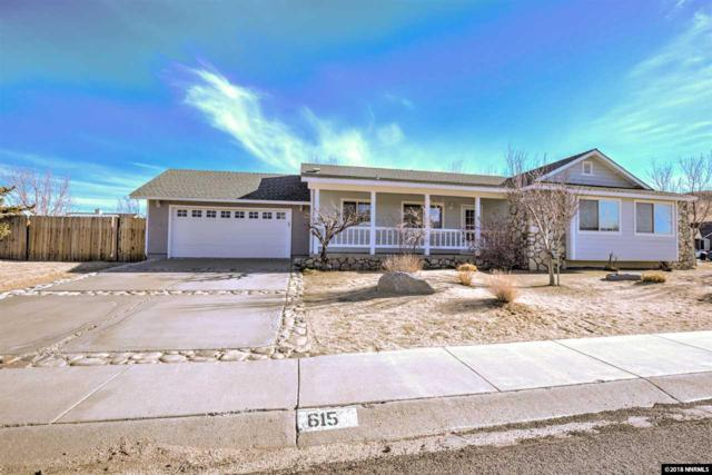 615 Jill Drive, Gardnerville, NV 89460 (MLS #180000476) :: RE/MAX Realty Affiliates