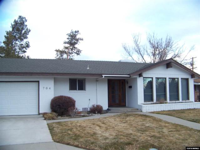 704 W Long St, Carson City, NV 89703 (MLS #180000965) :: RE/MAX Realty Affiliates