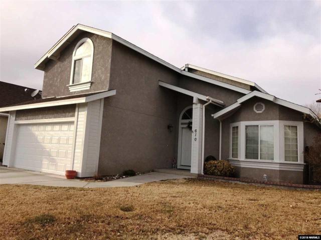 610 Sunset Drive, Fallon, NV 89406 (MLS #180002433) :: Joseph Wieczorek | Dickson Realty