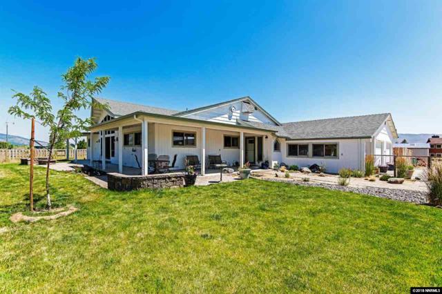 42 Bellevue Road, Washoe Valley, NV 89704 (MLS #180002776) :: Harcourts NV1