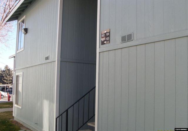4604 Neil Rd #103, Reno, NV 89502 (MLS #180002850) :: Harpole Homes Nevada