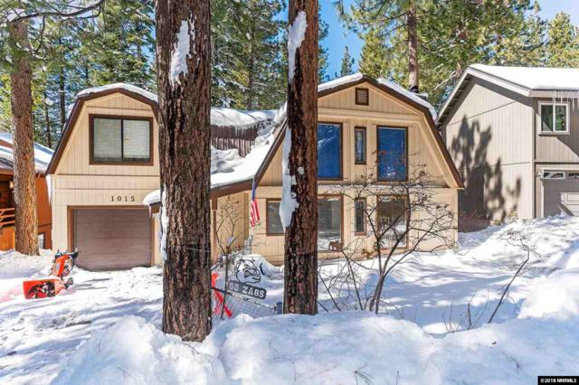1015 Tomahawk Trail, Incline Village, NV 89451 (MLS #180003036) :: The Mike Wood Team