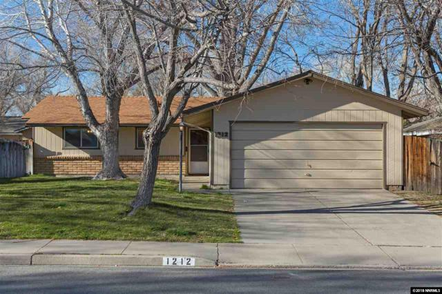 1212 E Robinson Street, Carson City, NV 89701 (MLS #180003965) :: NVGemme Real Estate
